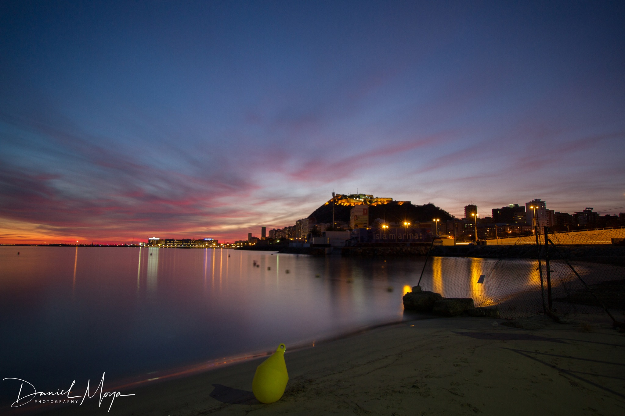 Sunset at Alicante  by DanielMoyaFuster