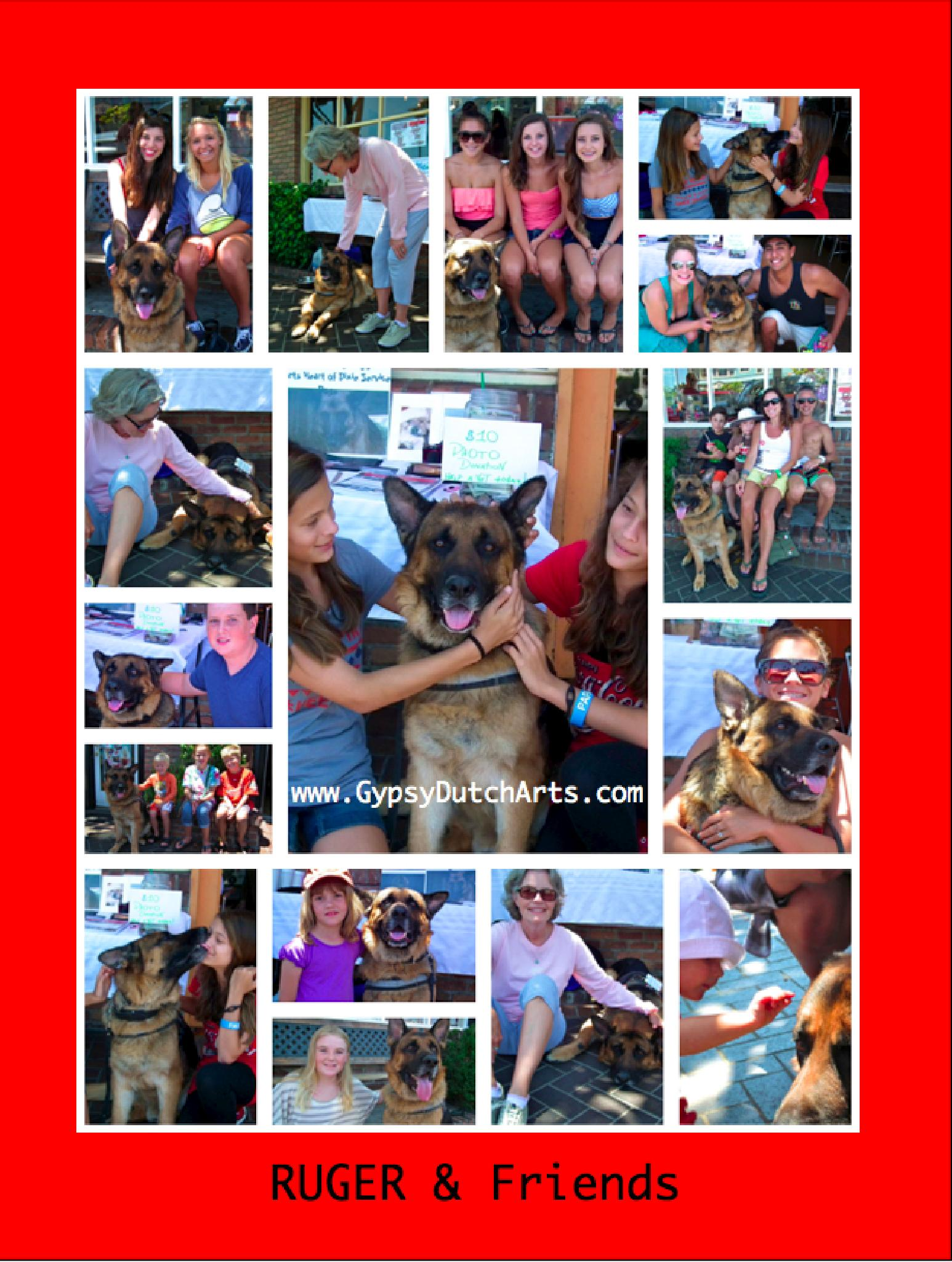 Ruger & Friends collage by GypsyDutch