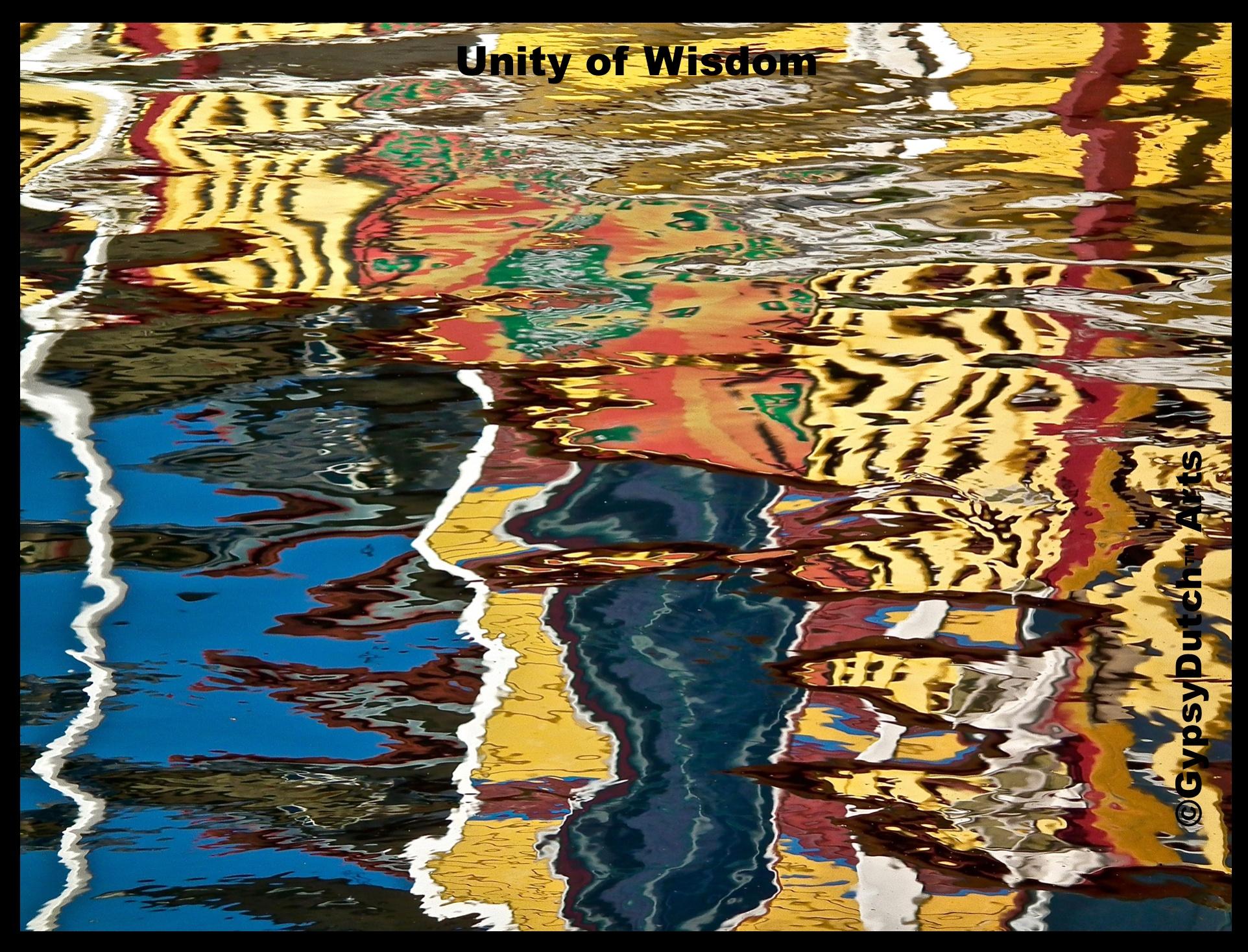 """Unity Of Wisdom"" ('Imagination Of Water' Series) by GypsyDutch"