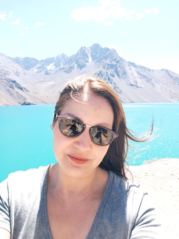 Selfie no Cajon del Maipo  by Ana Lúcia