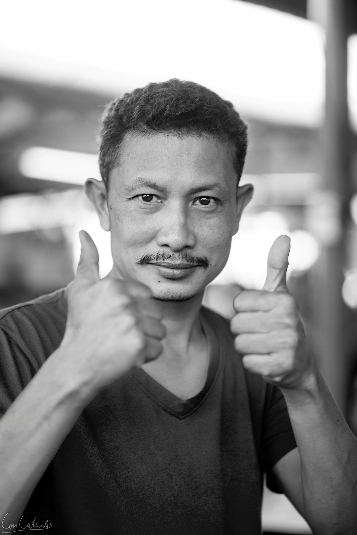 Photo in People #man #manportrait #b&w #thai #thailand