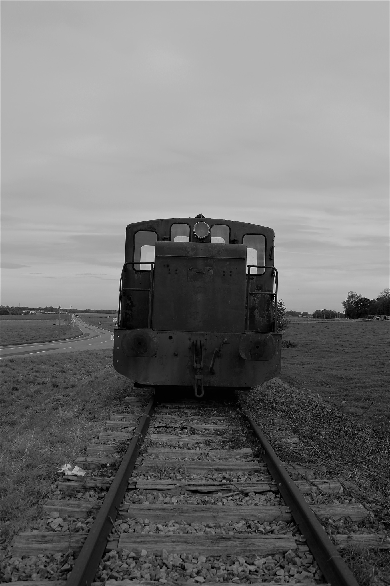an old locomotive by Ilse Ravestyn