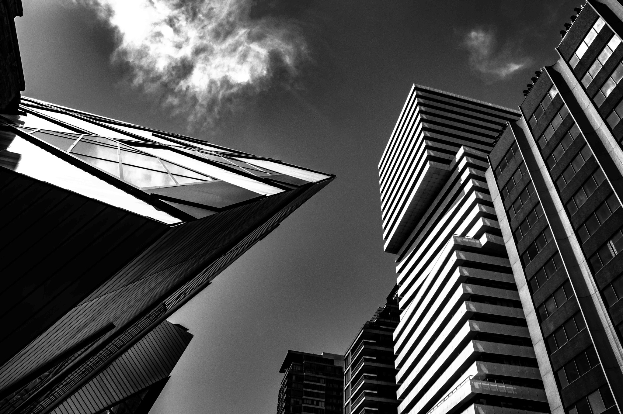 Urban Toronto, Architecture Contrasts by Pmartel