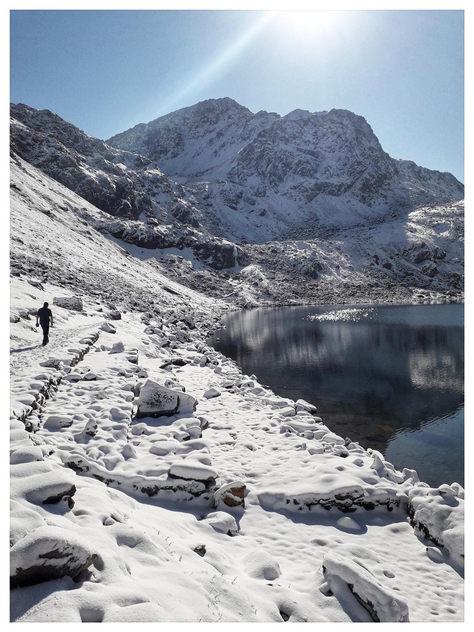 Gosainkund lake Nepal  by Mathias Winkler