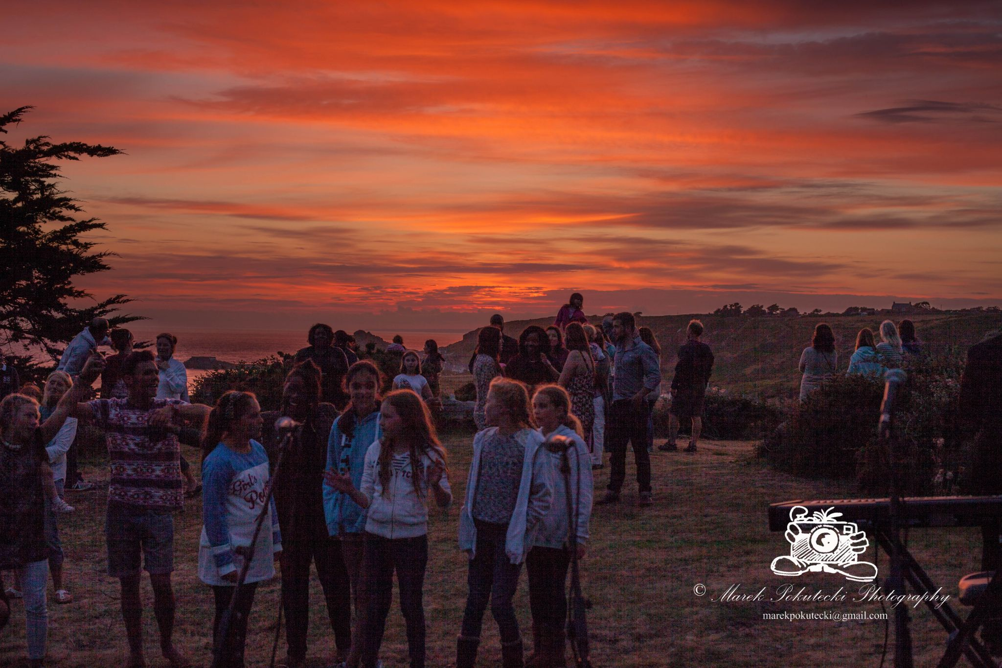 The sunset concert Jersey 2014 by Marek Pokutecki
