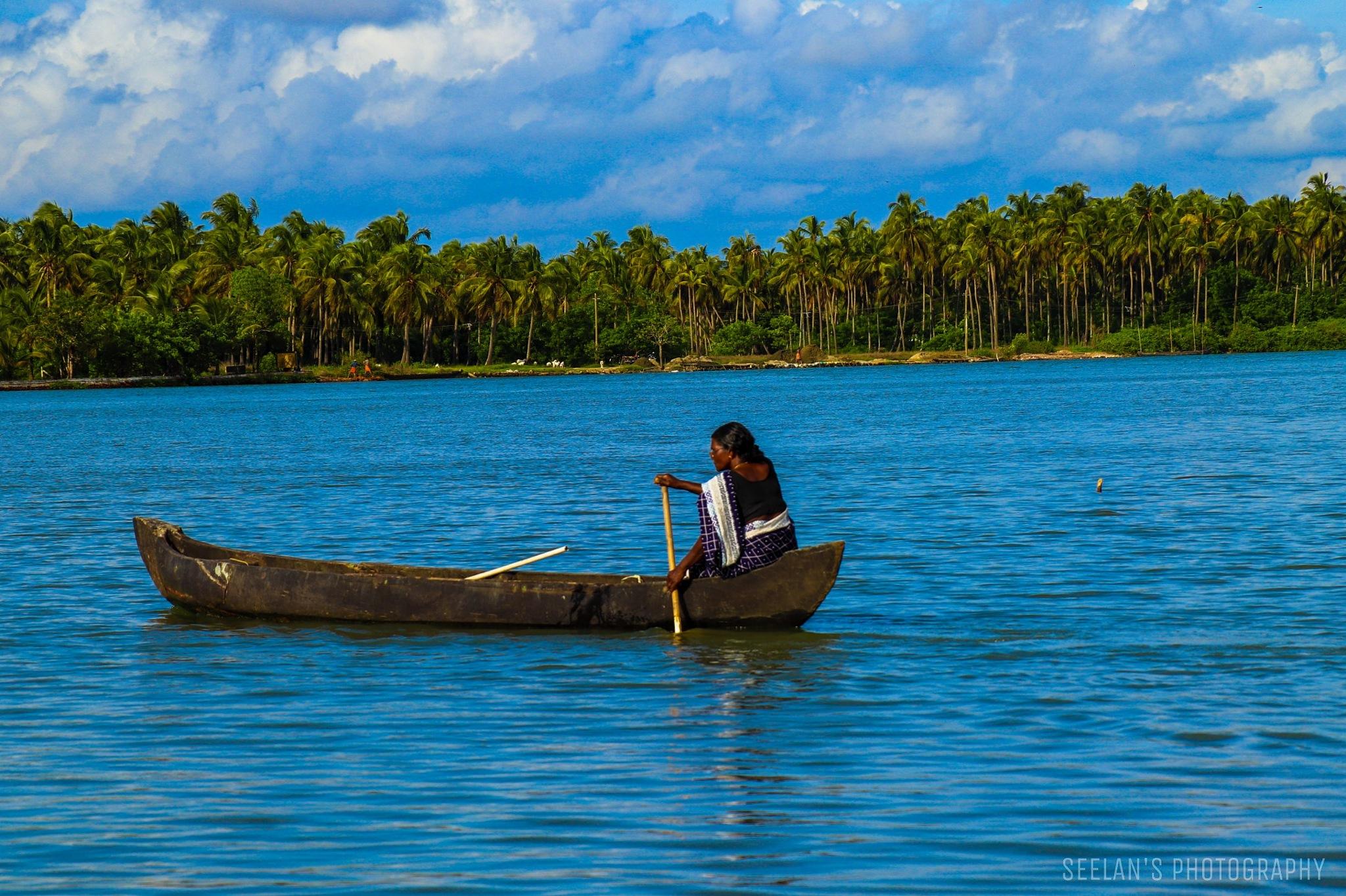 Chettuva backwaters, Chavakadu  by   SATHIYASEELAN