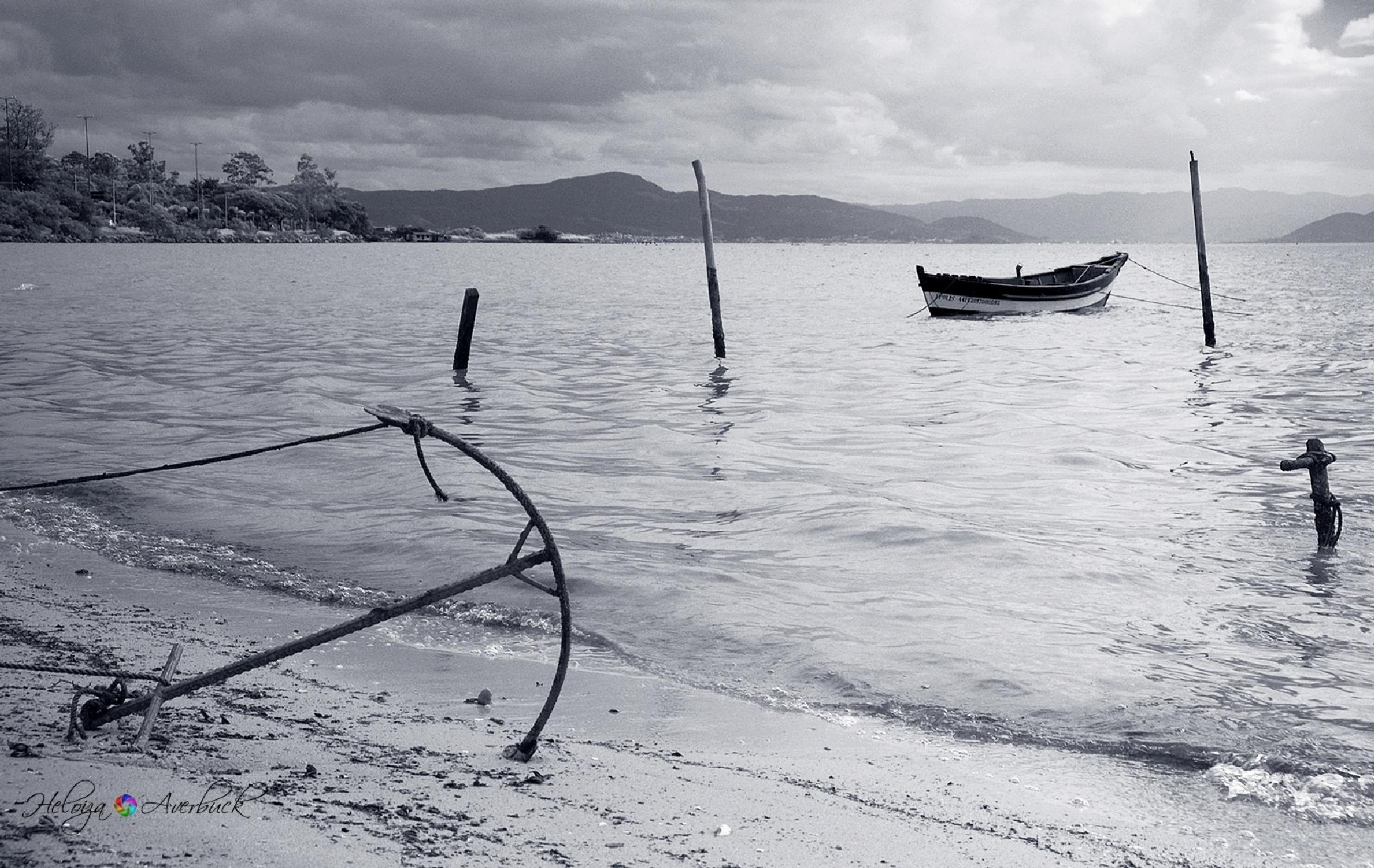 Photo in Black and White #blackandwhite seascape water