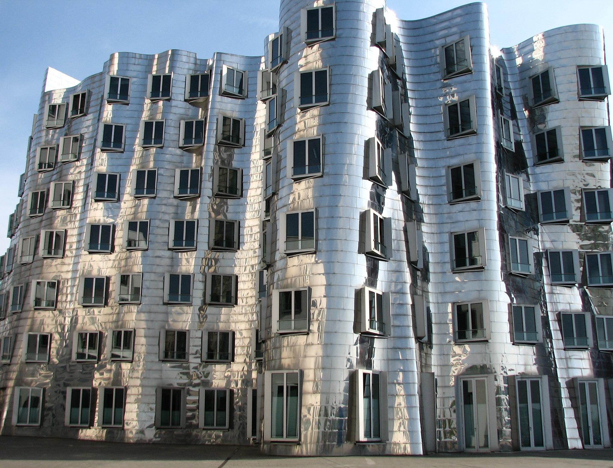 MedienHafen in Dusseldorf by Evgeny Kravchenko