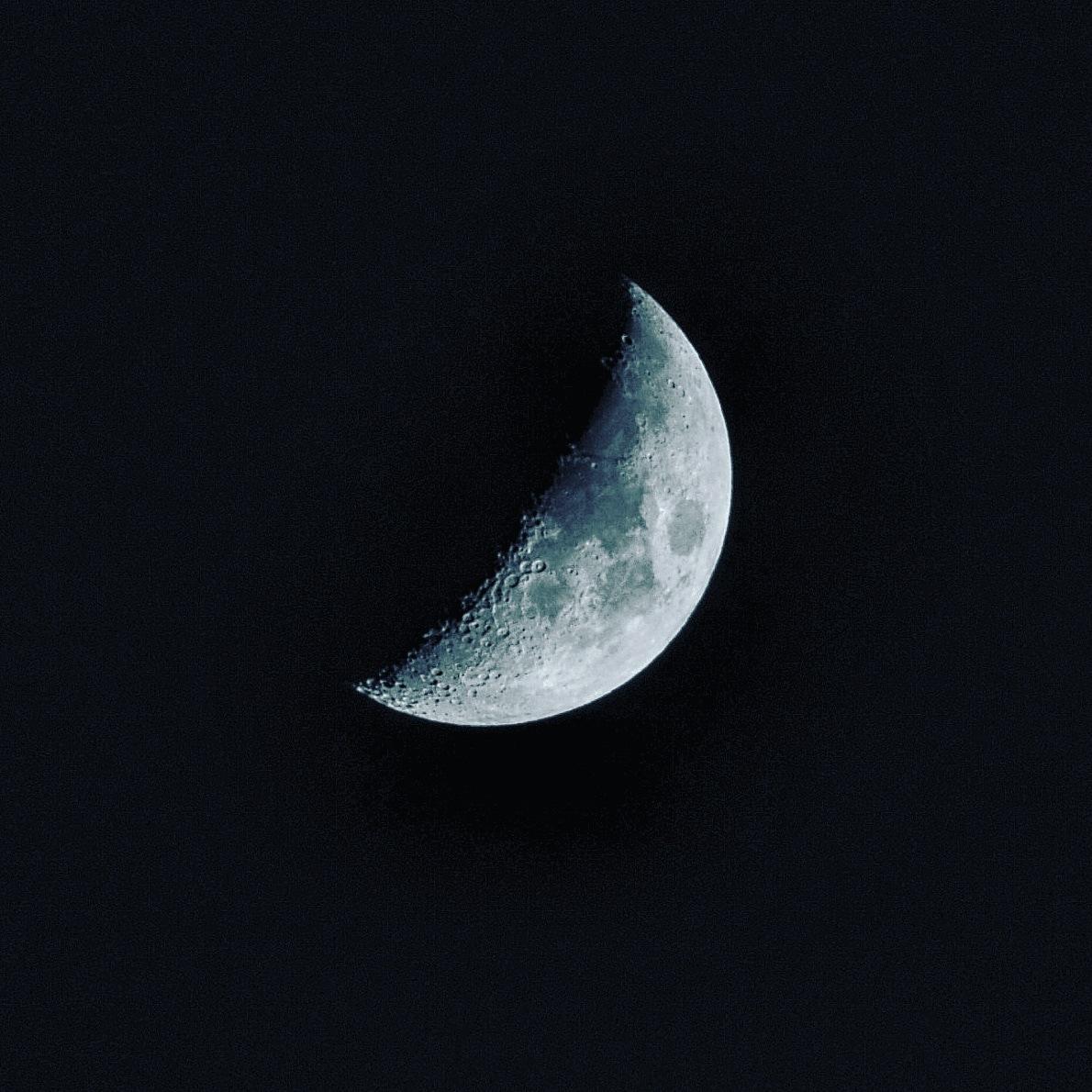 #moon #night #sky #stars  by Adhiraj Sharma