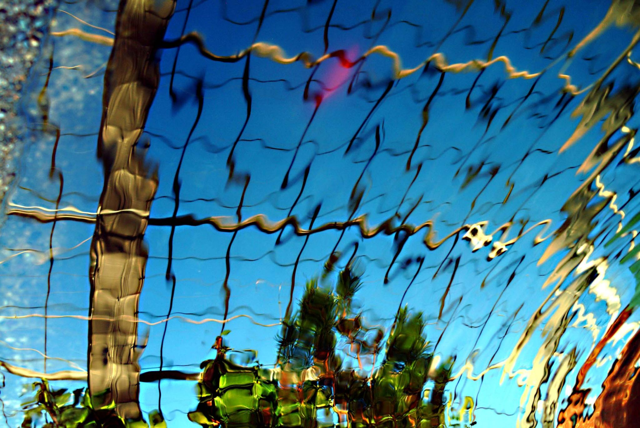Abstract Reflection or Something to Hang On Your Wall by Dennis Metea