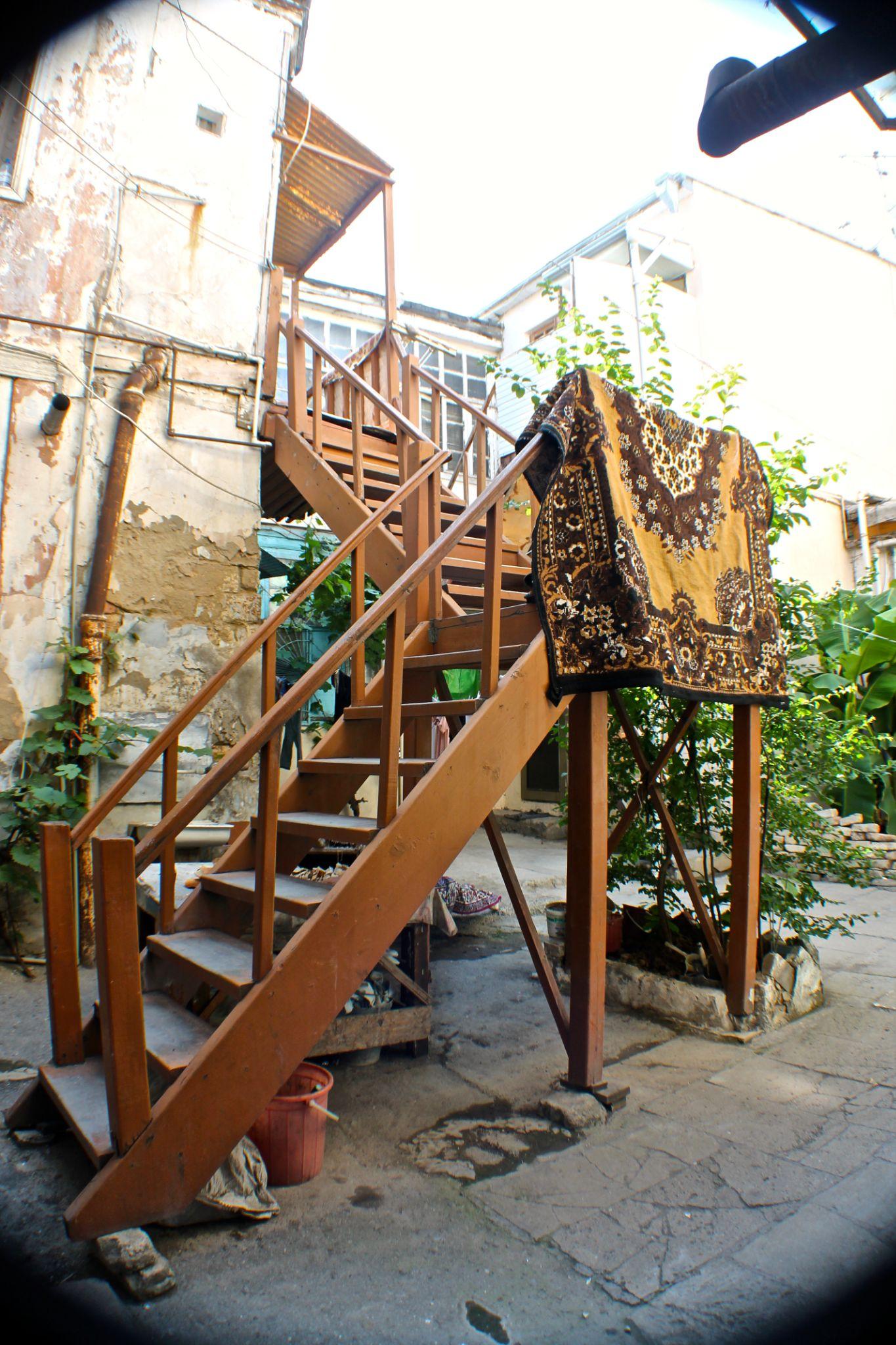 old yard in Sovetski  by Lamiya Korchiyeva