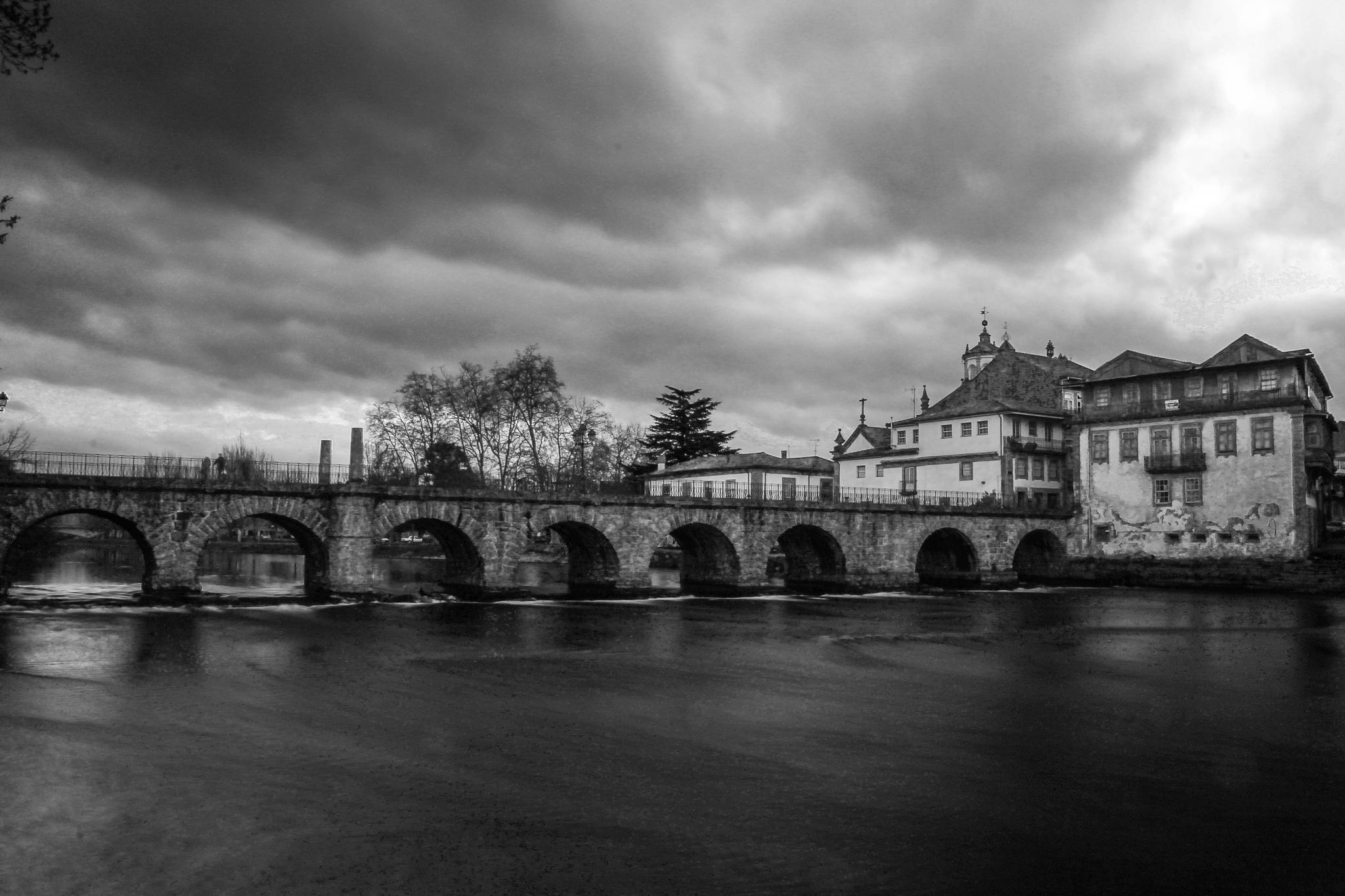 Roman Bridge by Lamartine Dias