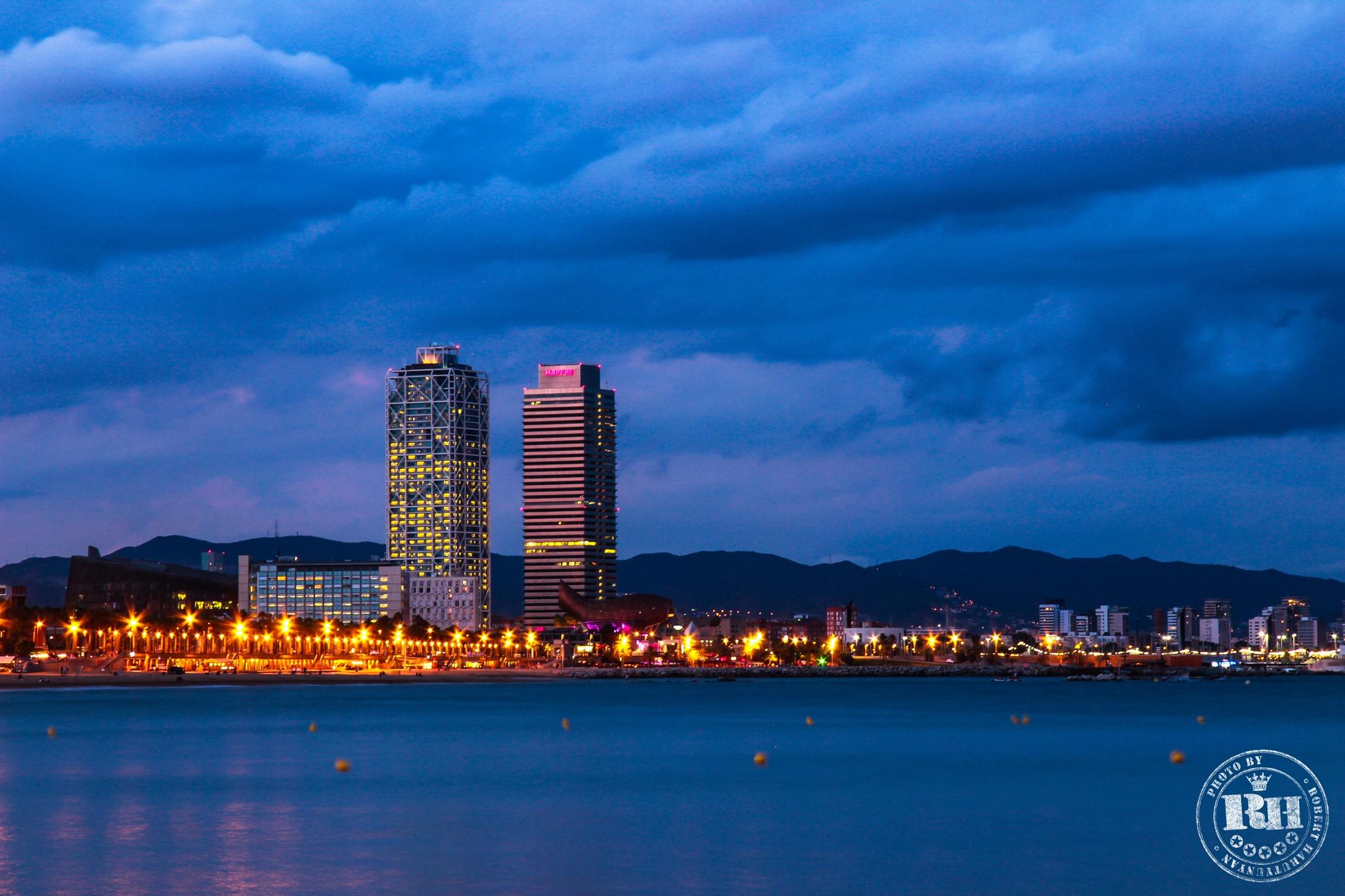 Barcelona Twins by Robert Harutyunyan