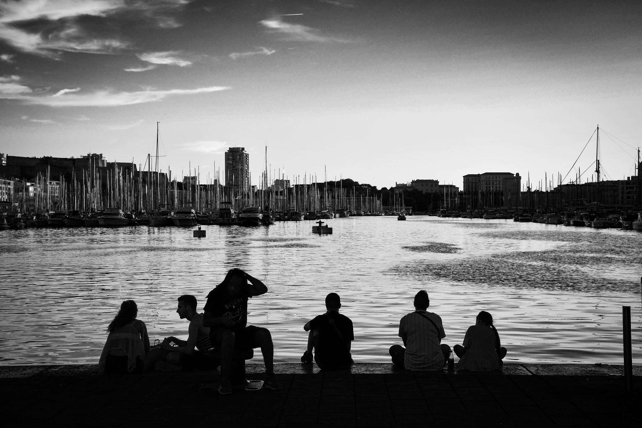 Marseille, Vieux Port by JustFrankH