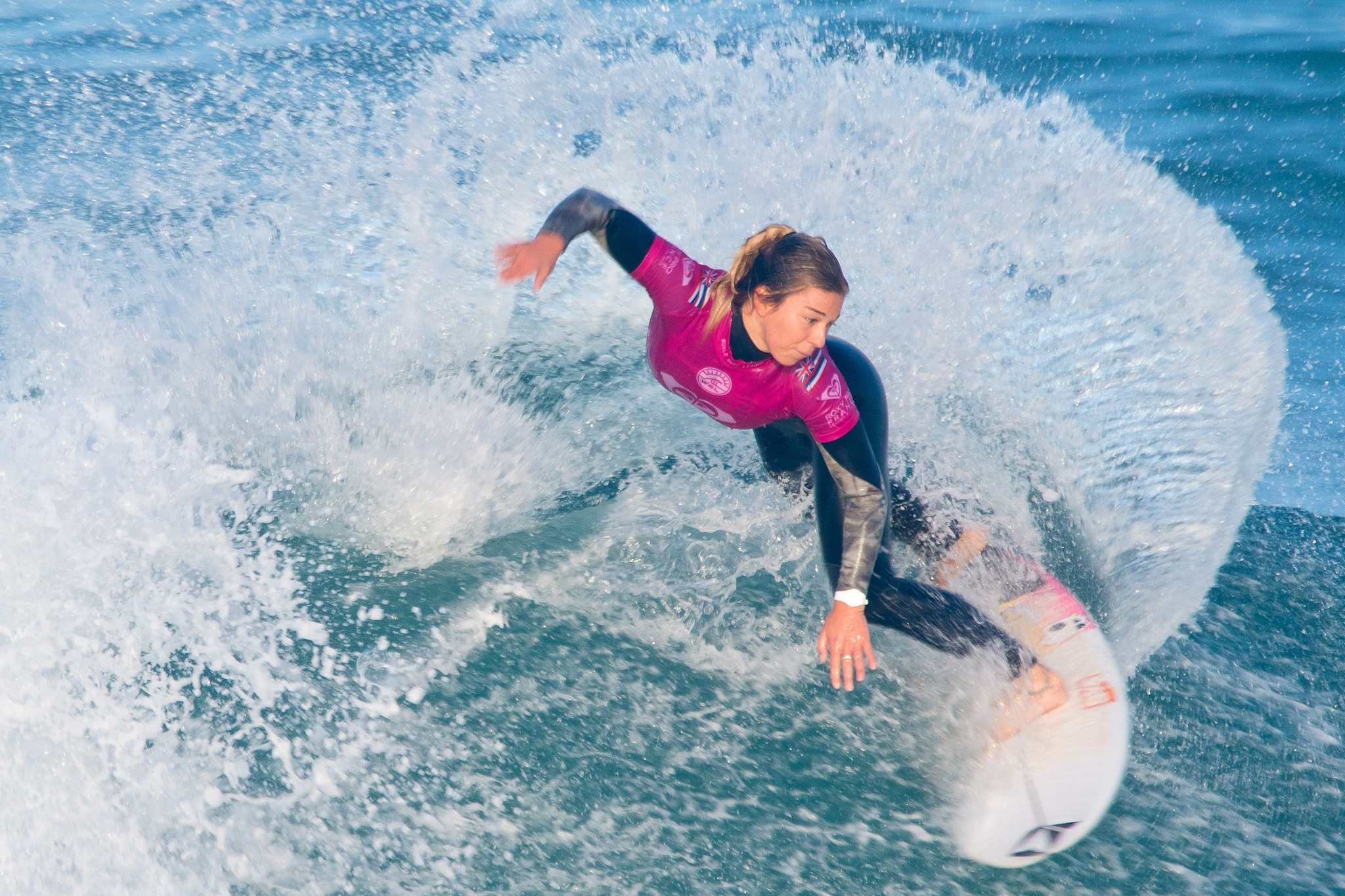 Coco ho at the roxy pro 2018 by PJ Productions