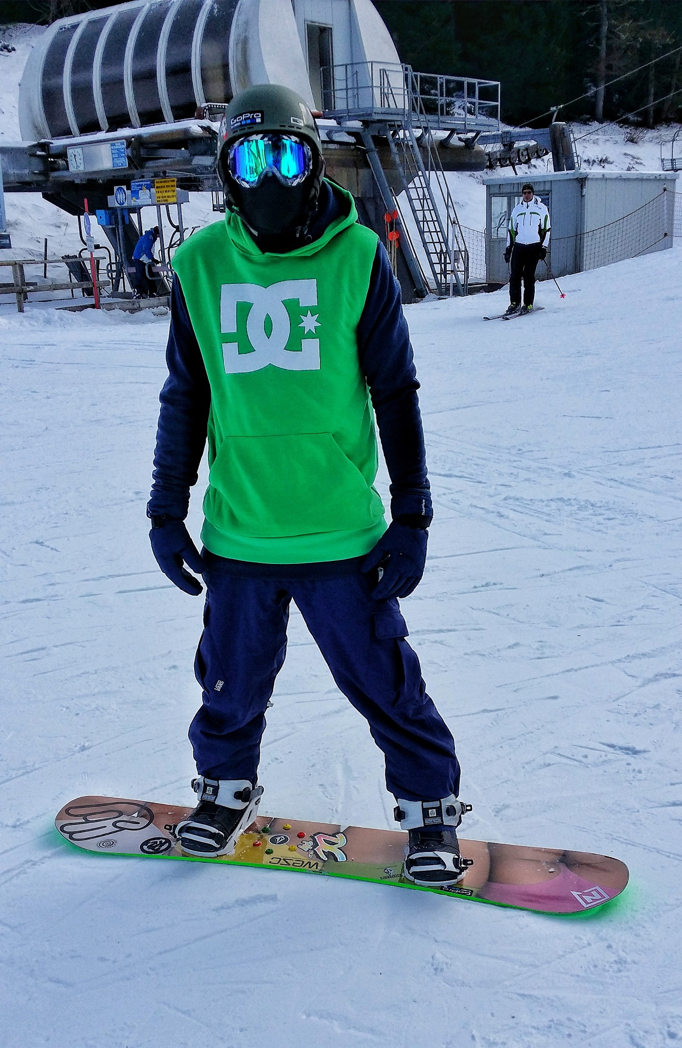 snowboard winter  by Thomas Cavaliere