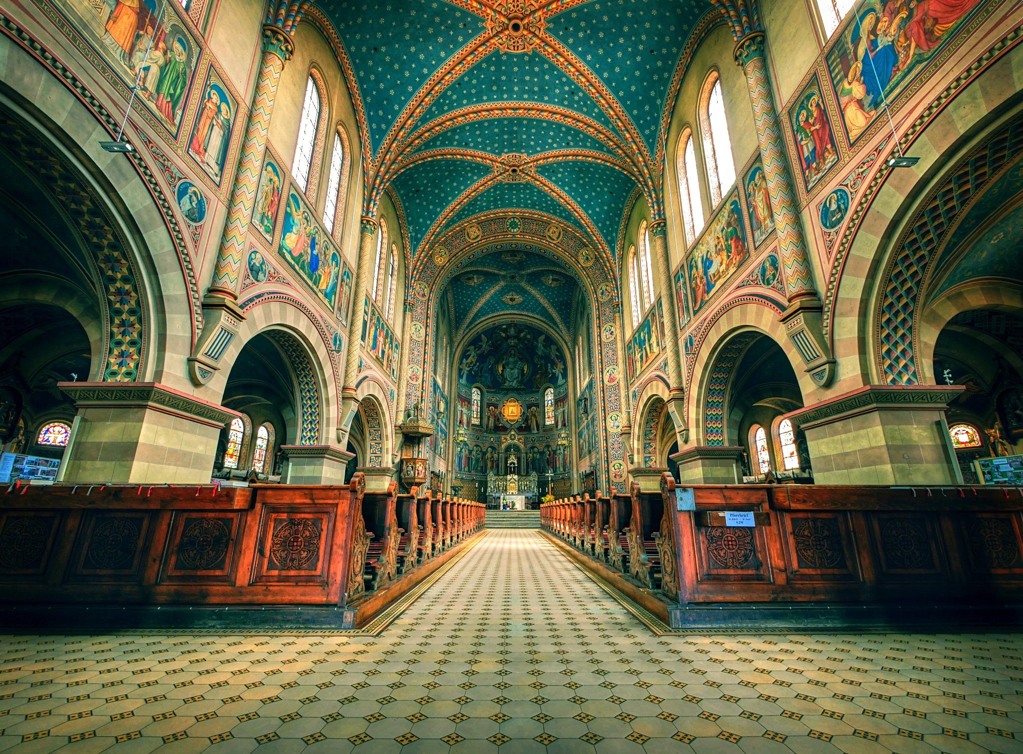 Klosterkirche Maria Hilf by David Capone