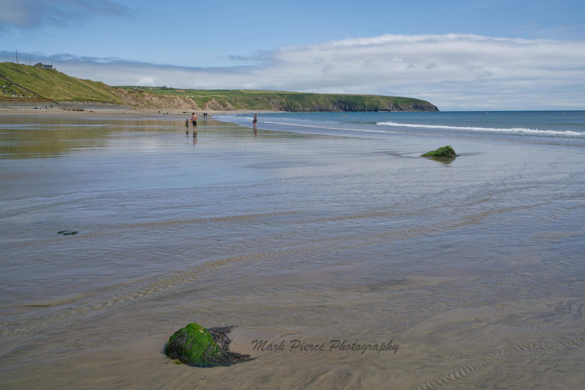 Beach walk by Mark Pierce