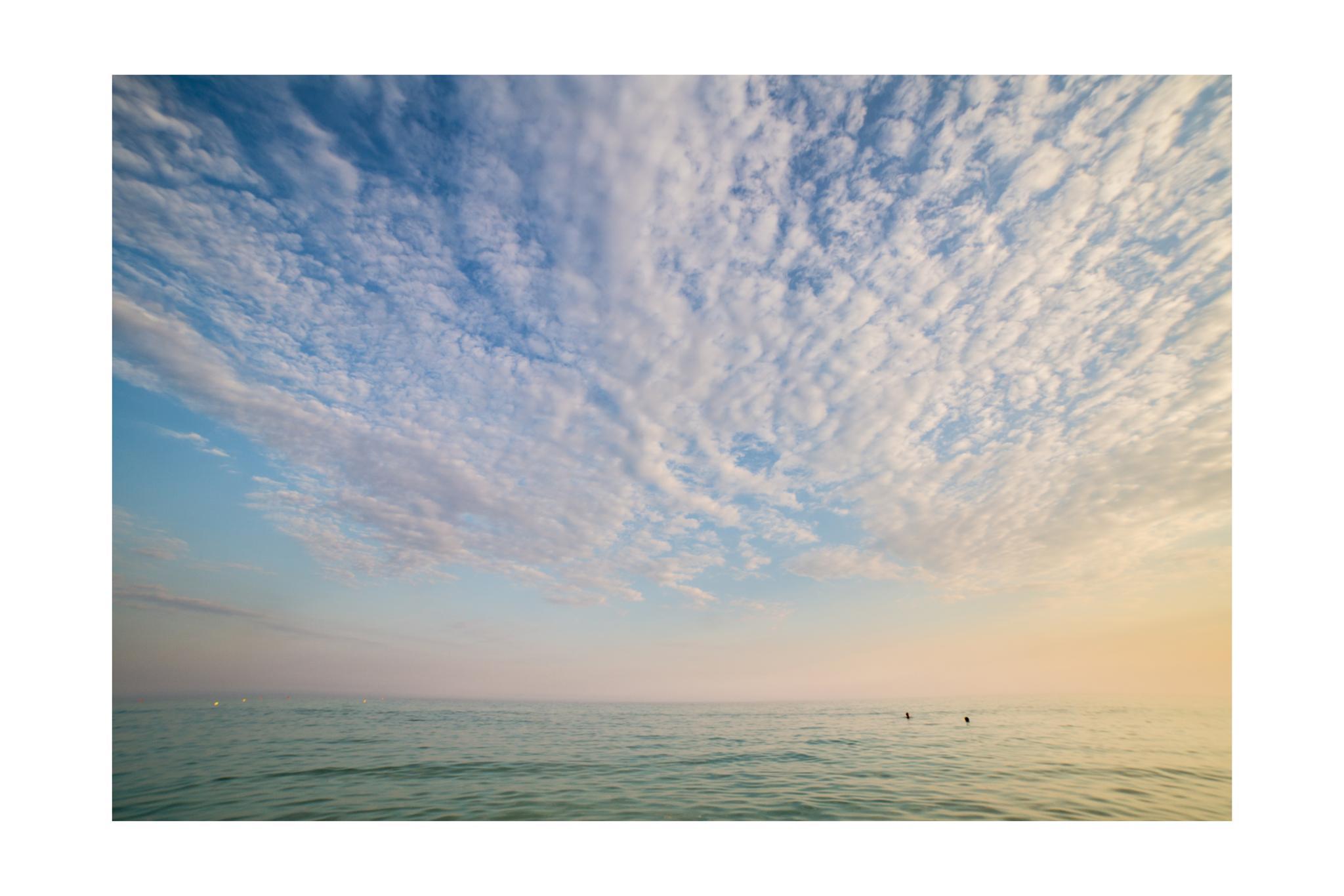 down by the sea by Fabio Sari