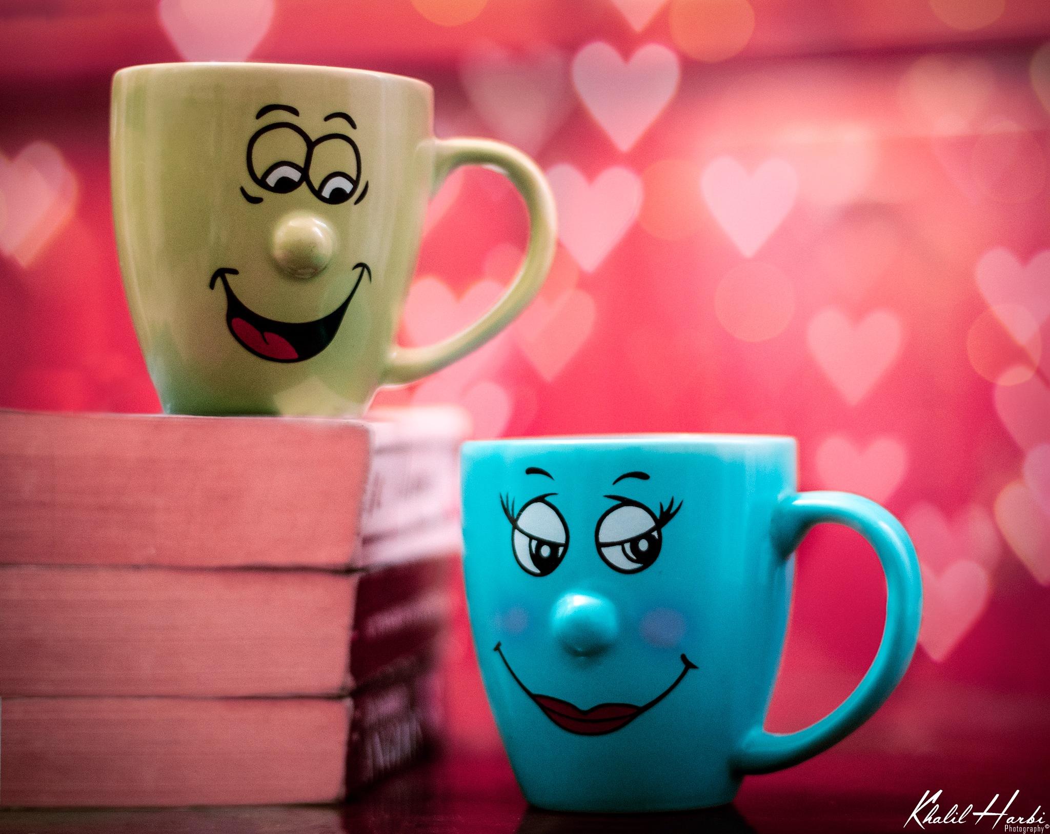 loving cups  by khalil harbi