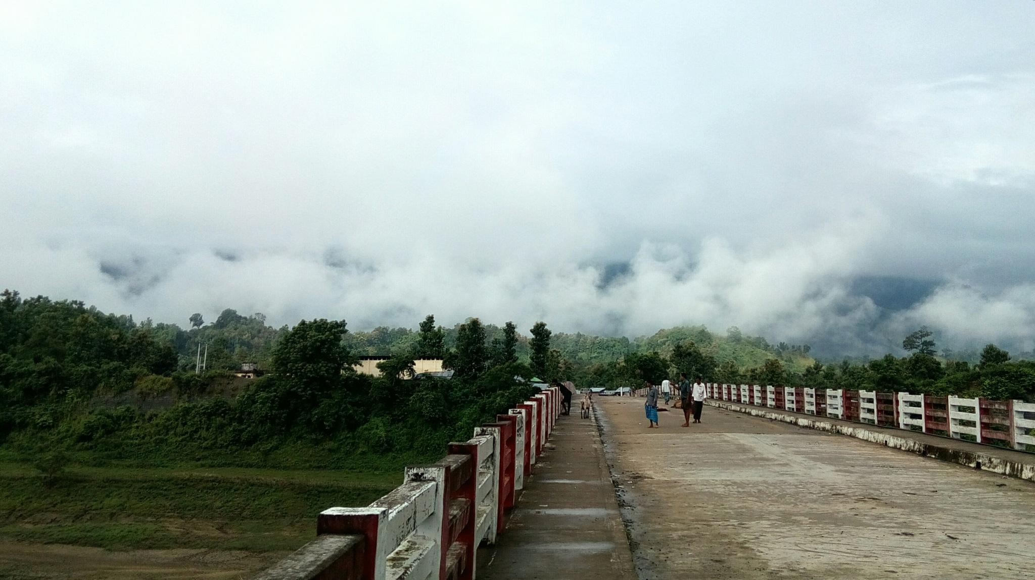 Thanchi Bridge by Nirjhar Barua