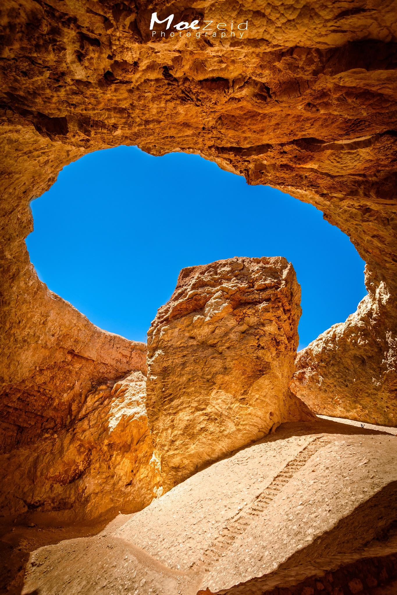 Snnour Cave by Moe Zeid