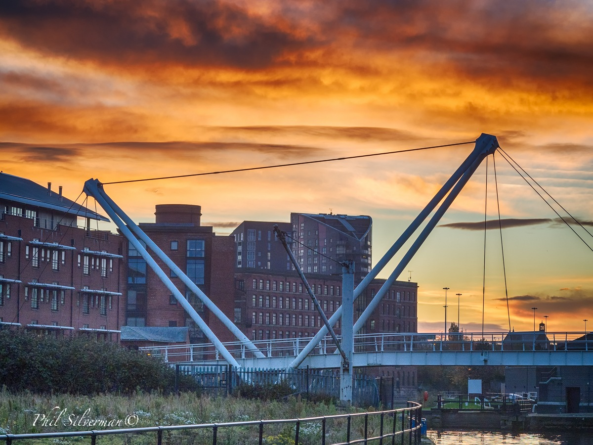 Dawn over the Aire by Phil Silverman