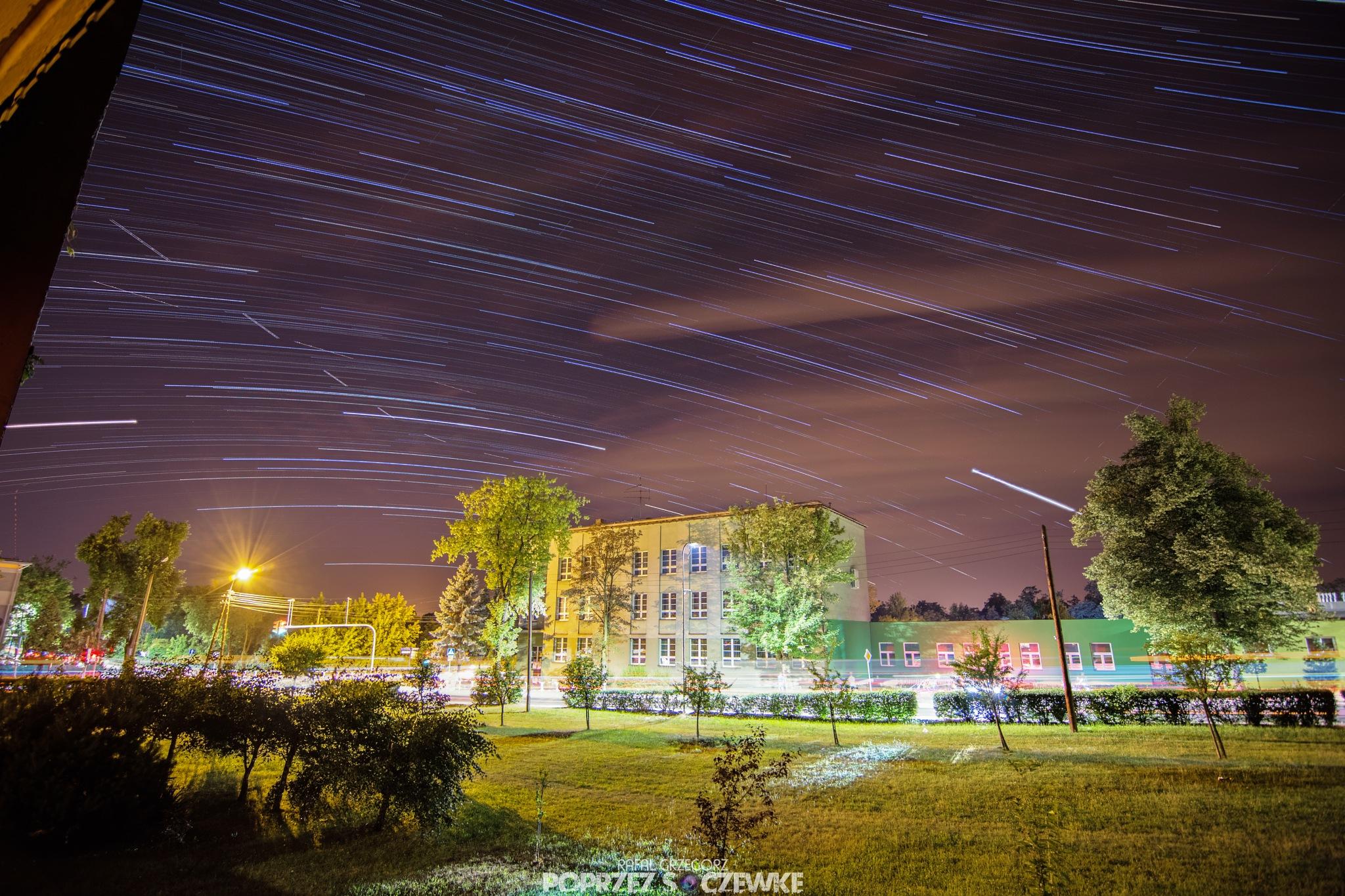 Star Trails by Rafal Grzegorz