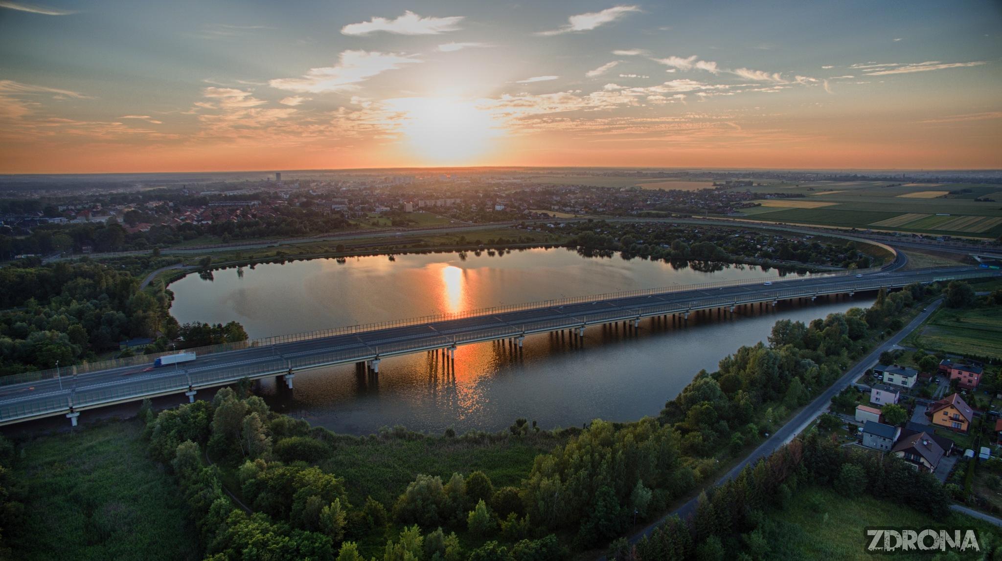 Sunset Lake by Rafal Grzegorz