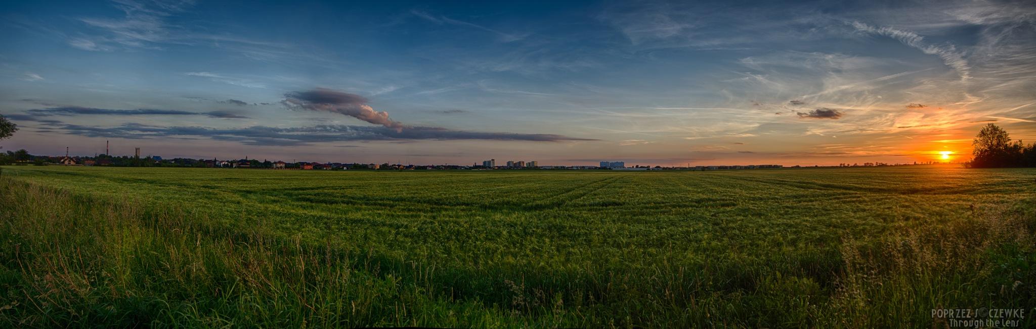 pano sunset by Rafal Grzegorz