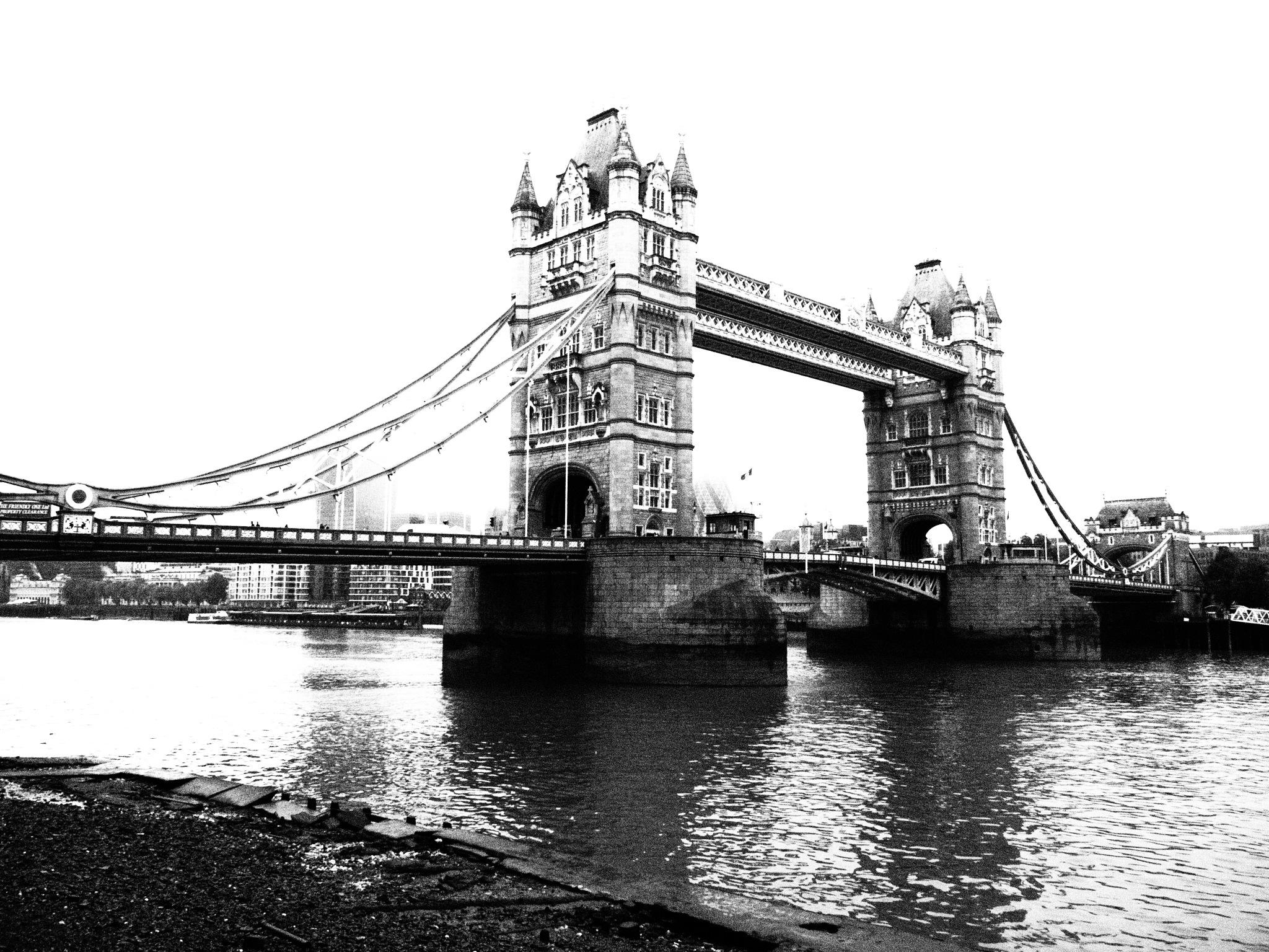 Ye Old London Bridge by Thomas Peck