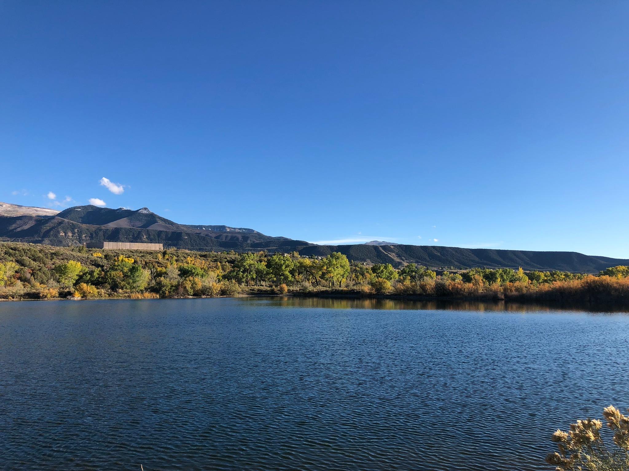 Colorado lake by Javan Chandler