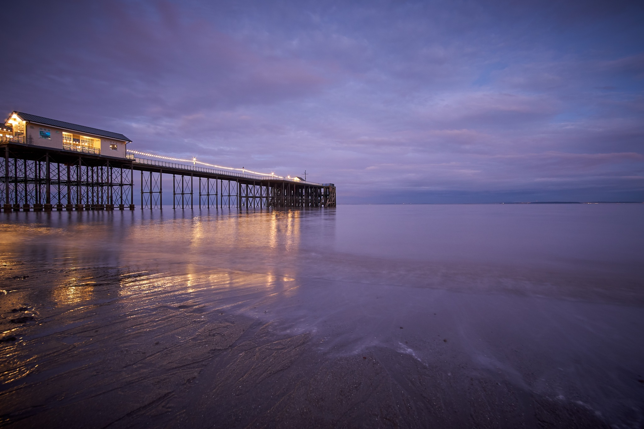The Pier by Stephen L. Johnson