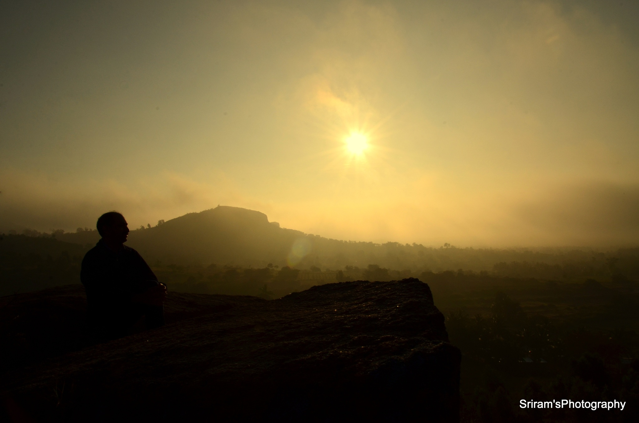 Solitude at sunrise... by sriramshankars