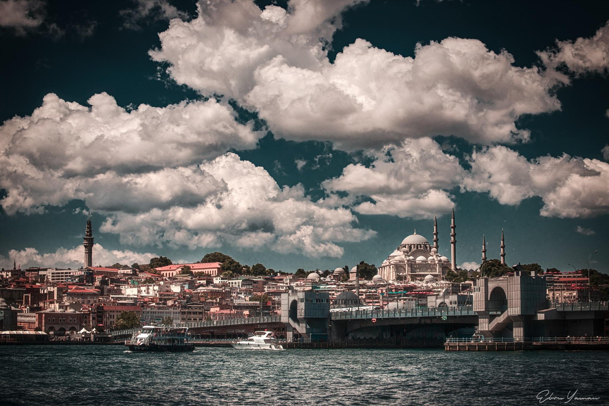 İstanbul  by Ebru YAMAN