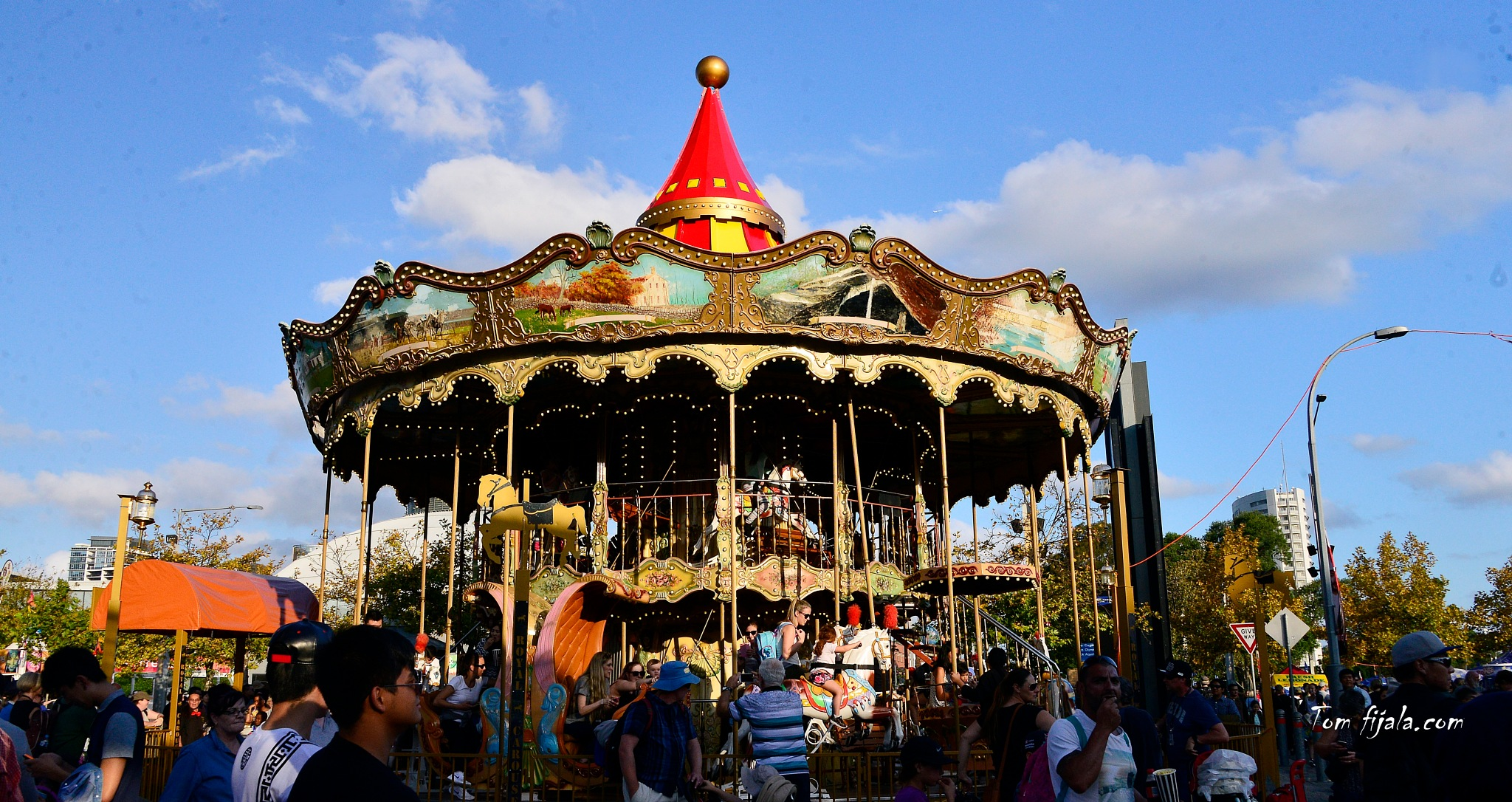 carrousel by Tom Fijala