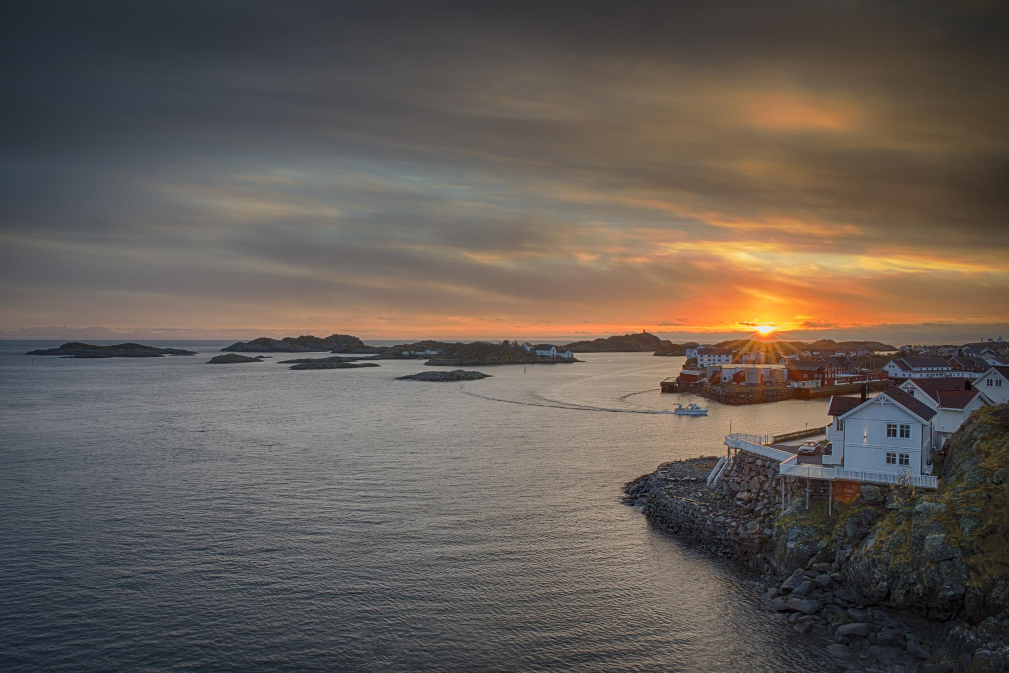 Sunset at 13:00 by Petter Gundhus - Photography
