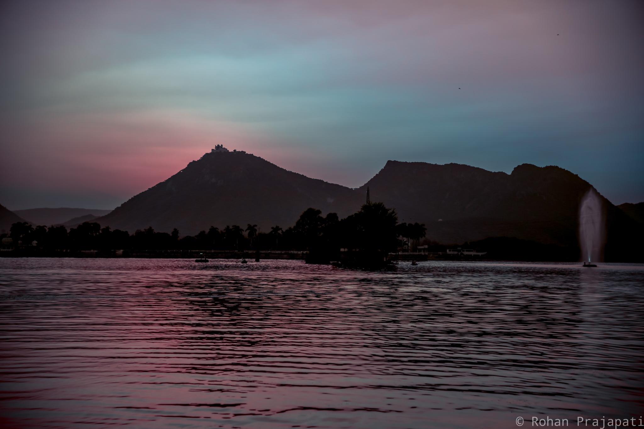 lake view  by Rohan Prajapati