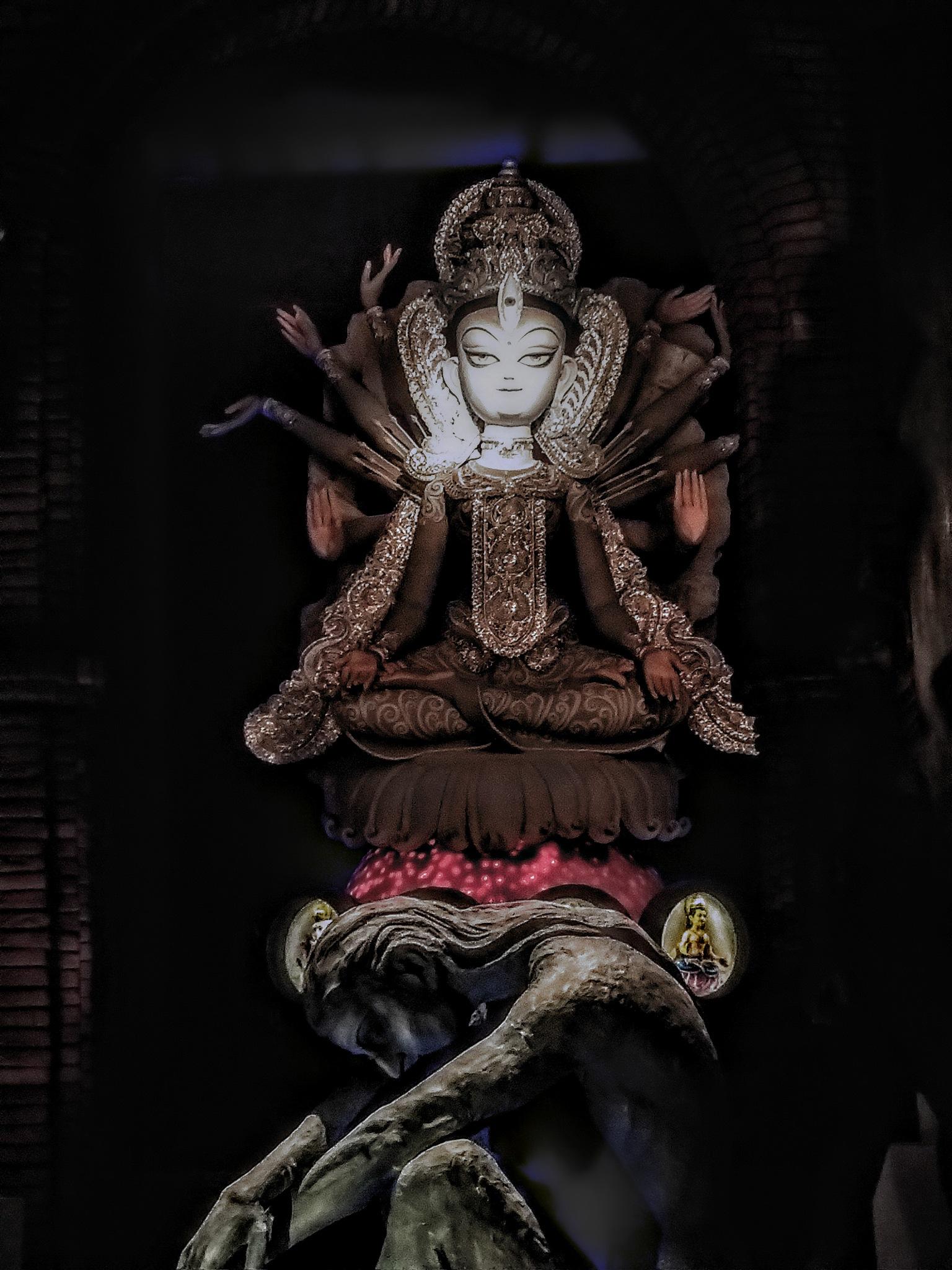 Maa Durga by Simran Kewalramani