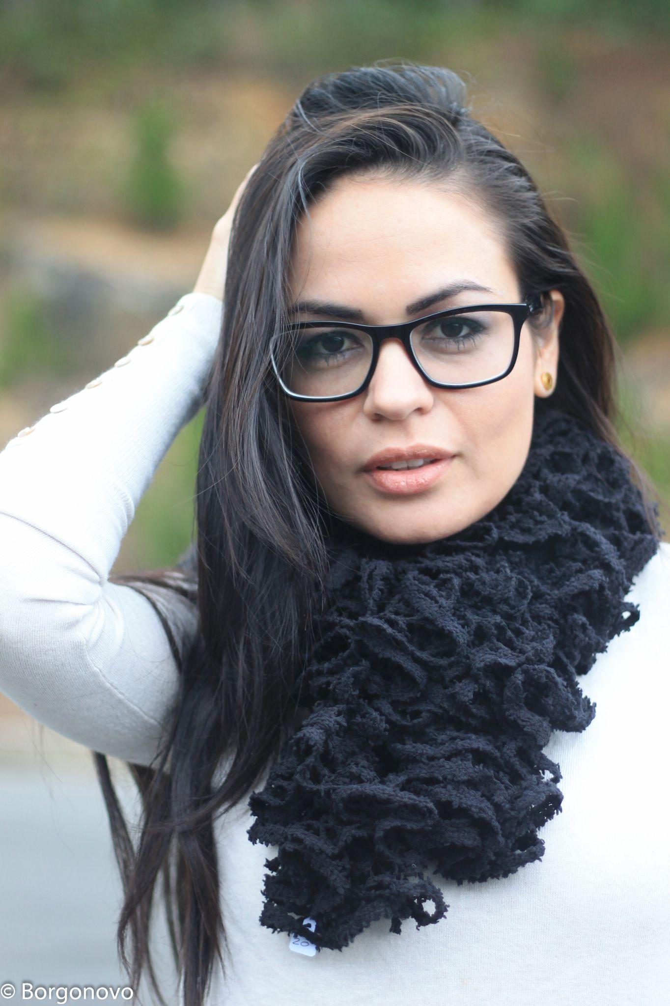 Linda de óculos / Beautiful girl with glasses by Borgonovo Fotografias