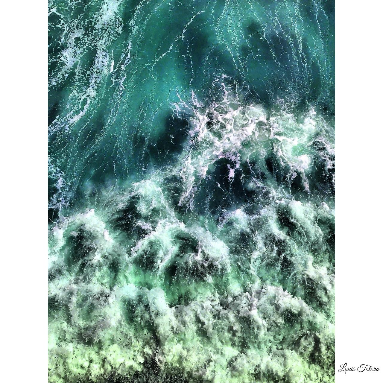 Water Waves  by Louis Totoro