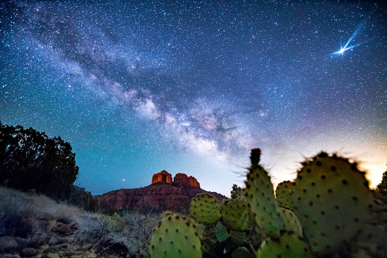 Cathedral Milkyway by Spencer Black