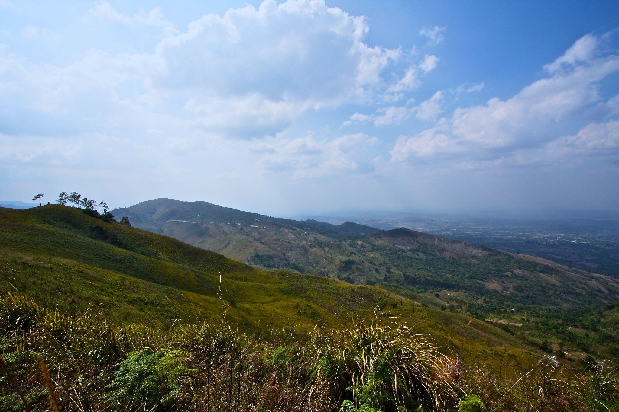 Haitian Mountains by Hugh Mitchell