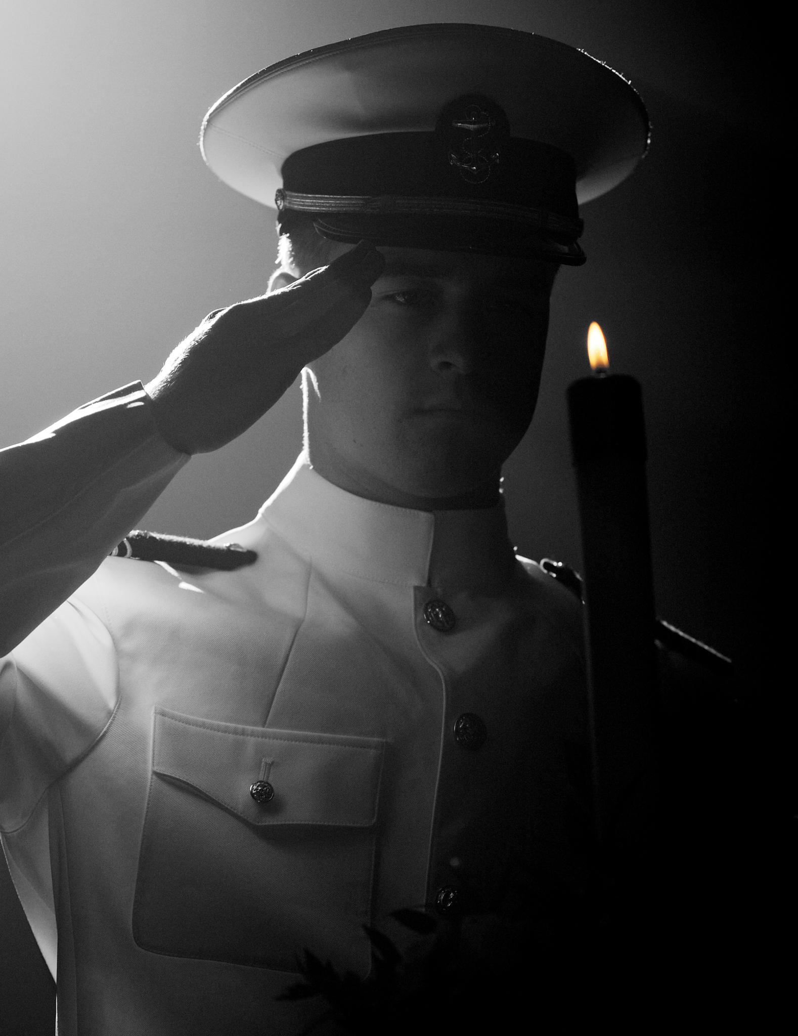 The Last Salute by Hugh Mitchell
