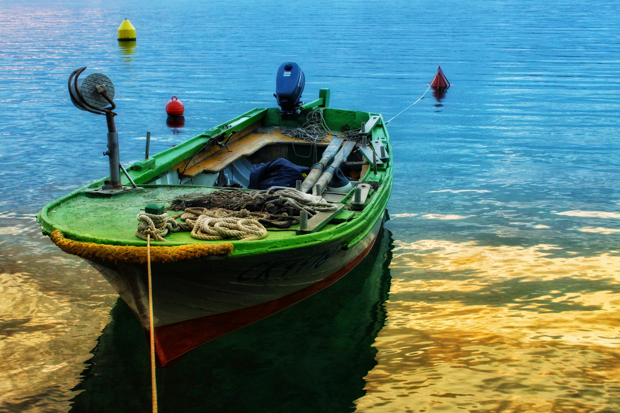 Little boat by Irena Udovičić Devčić
