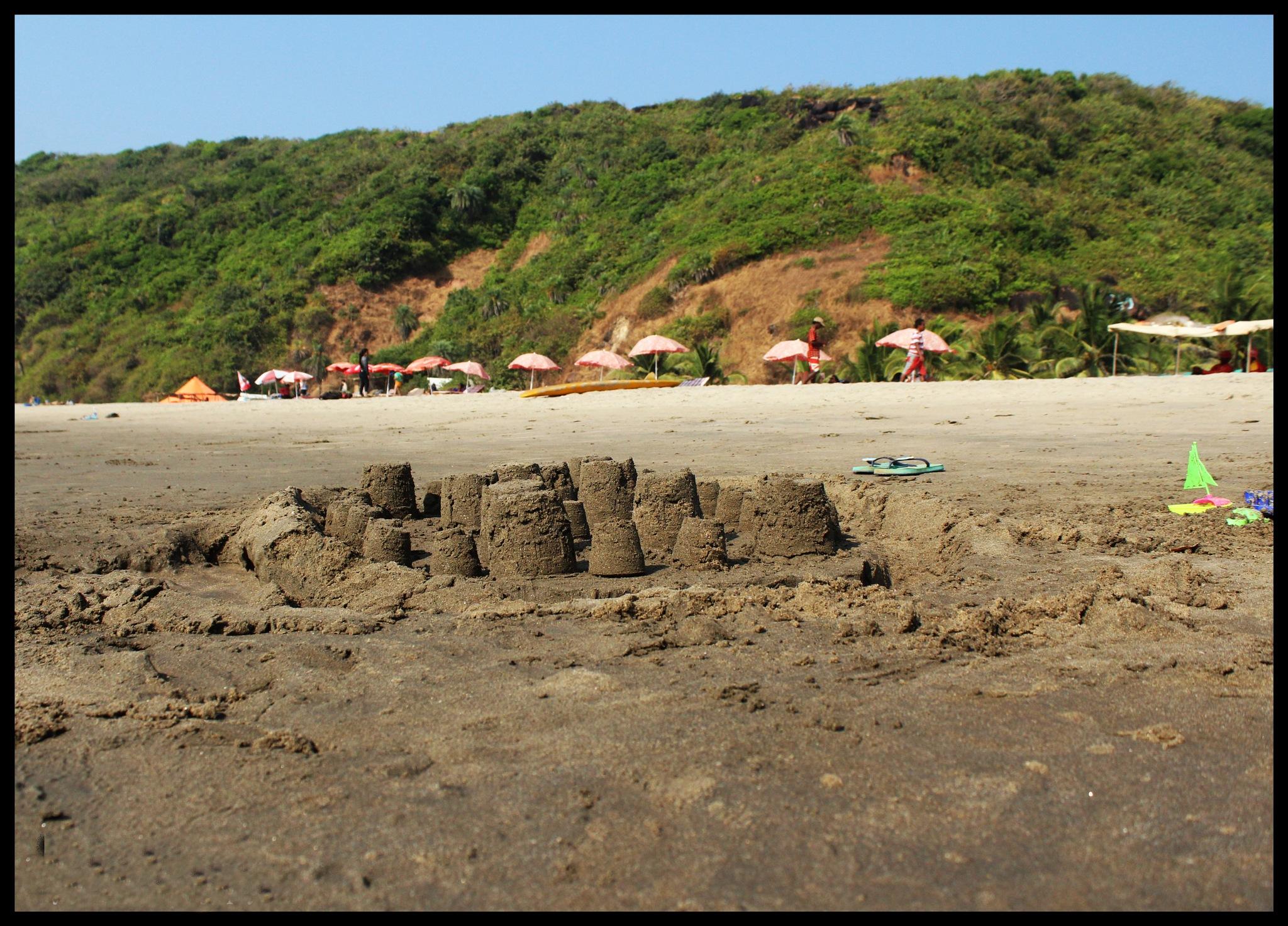 Beach side by Vijay Tiwari