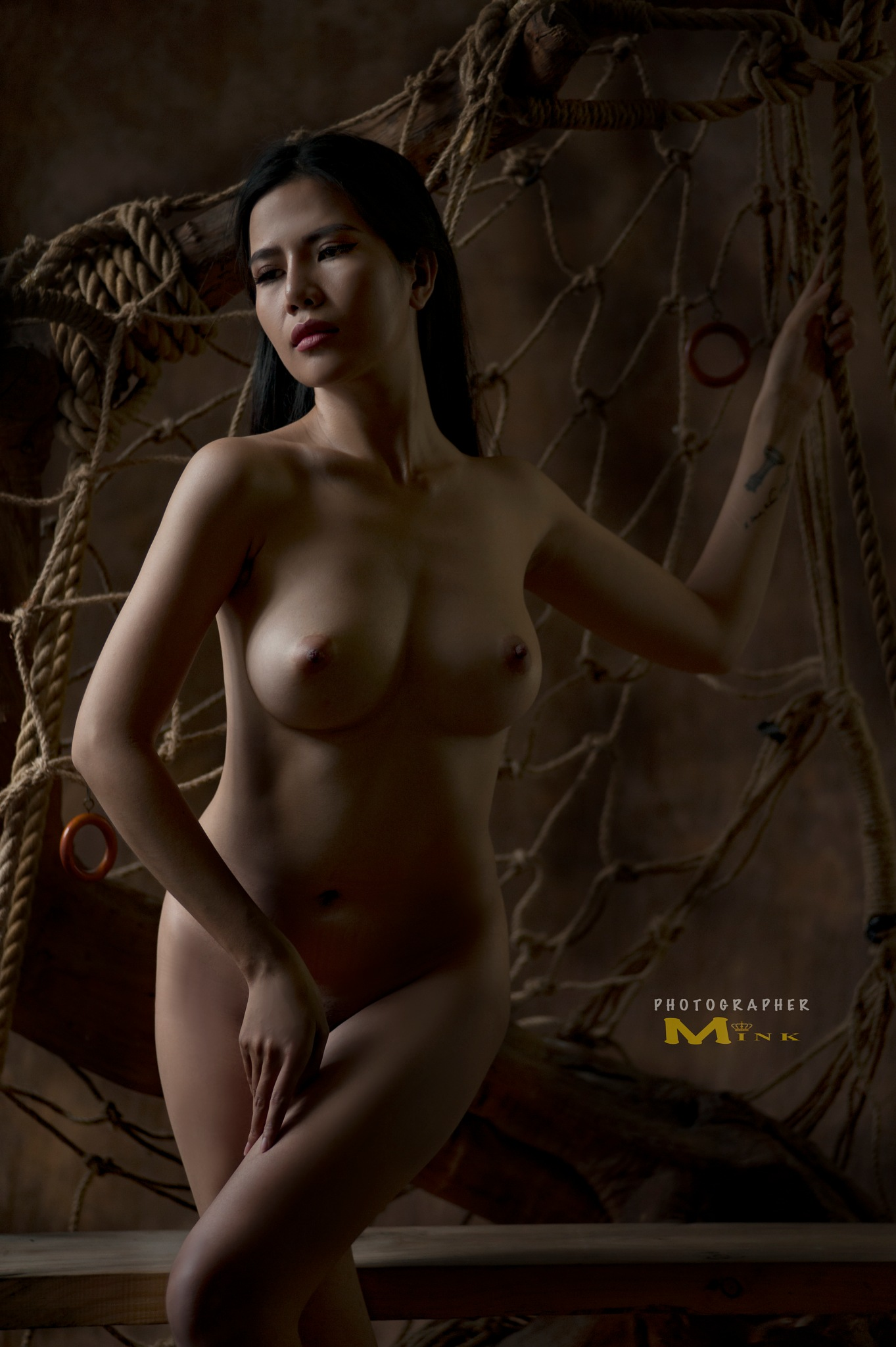 nude girl.  by minkphoto