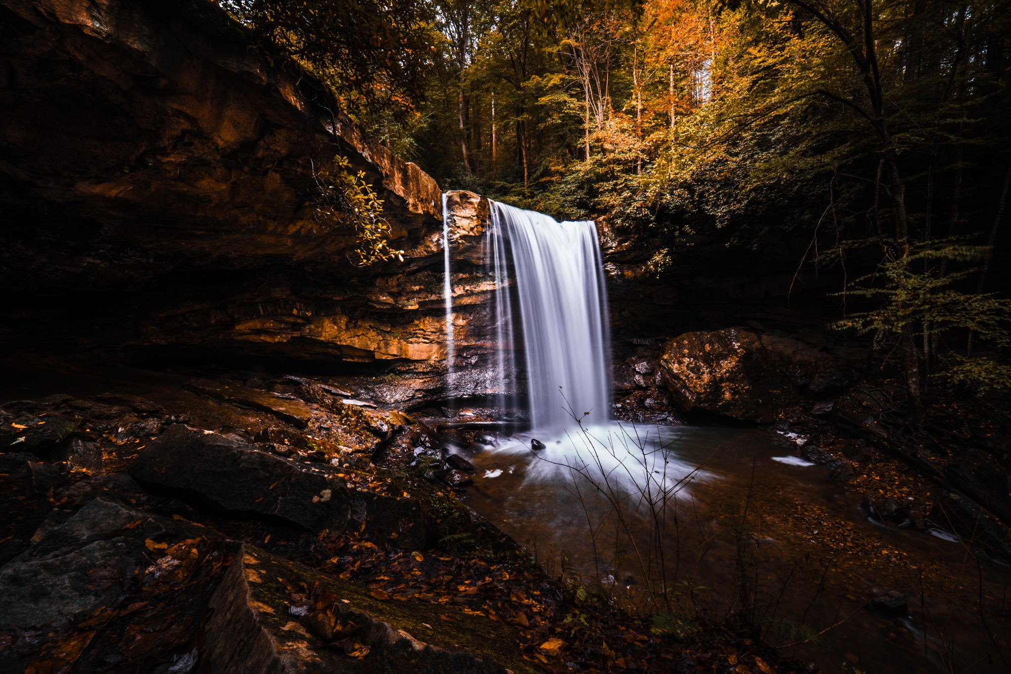 cucumber falls by Jared Ludrof
