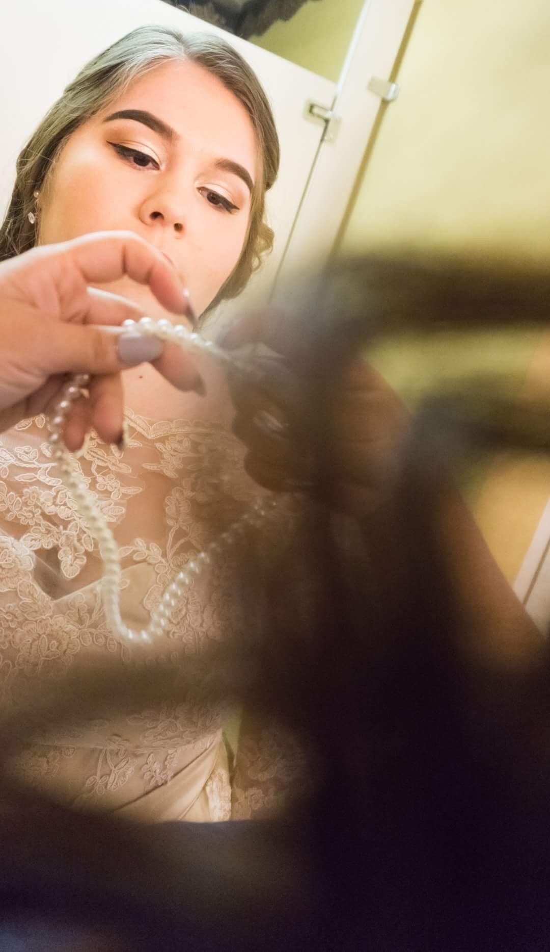 Wedding day preparations by Clayton Adams