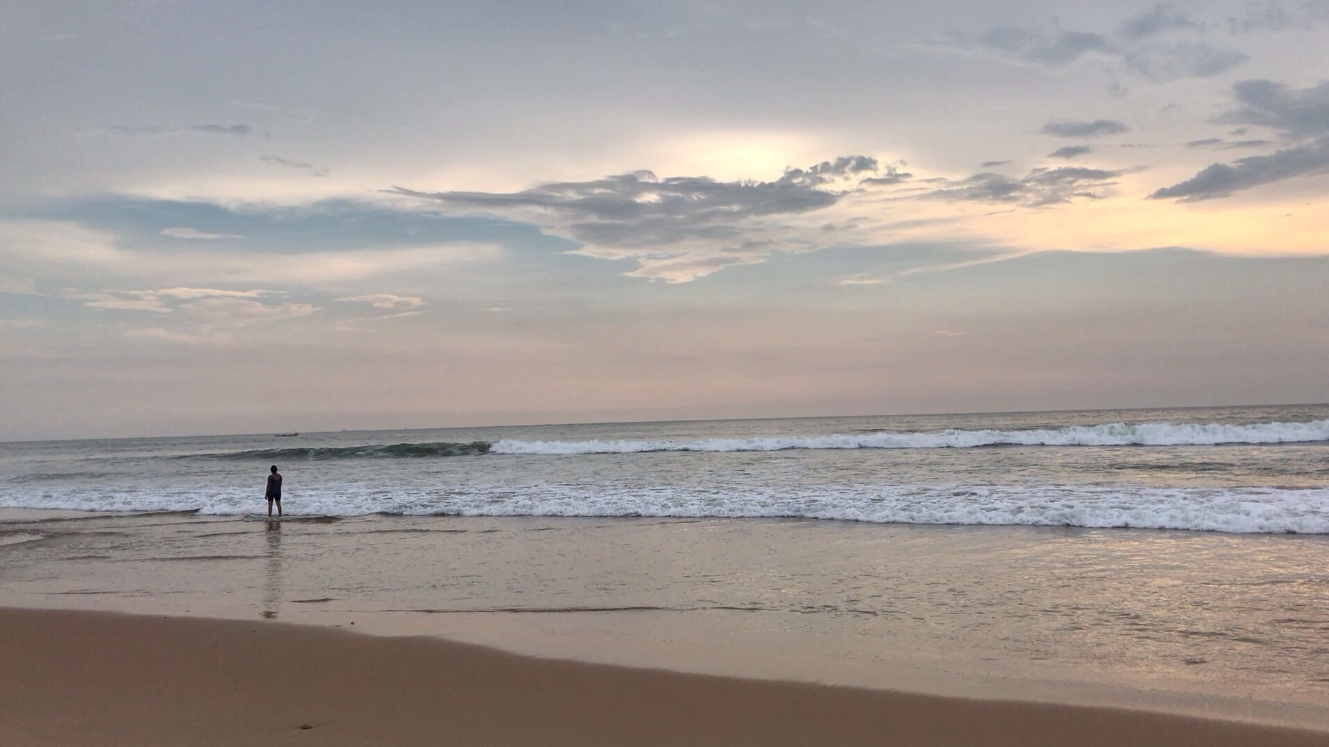 Time Lapse at Candolim Beach by Ankur Bagai